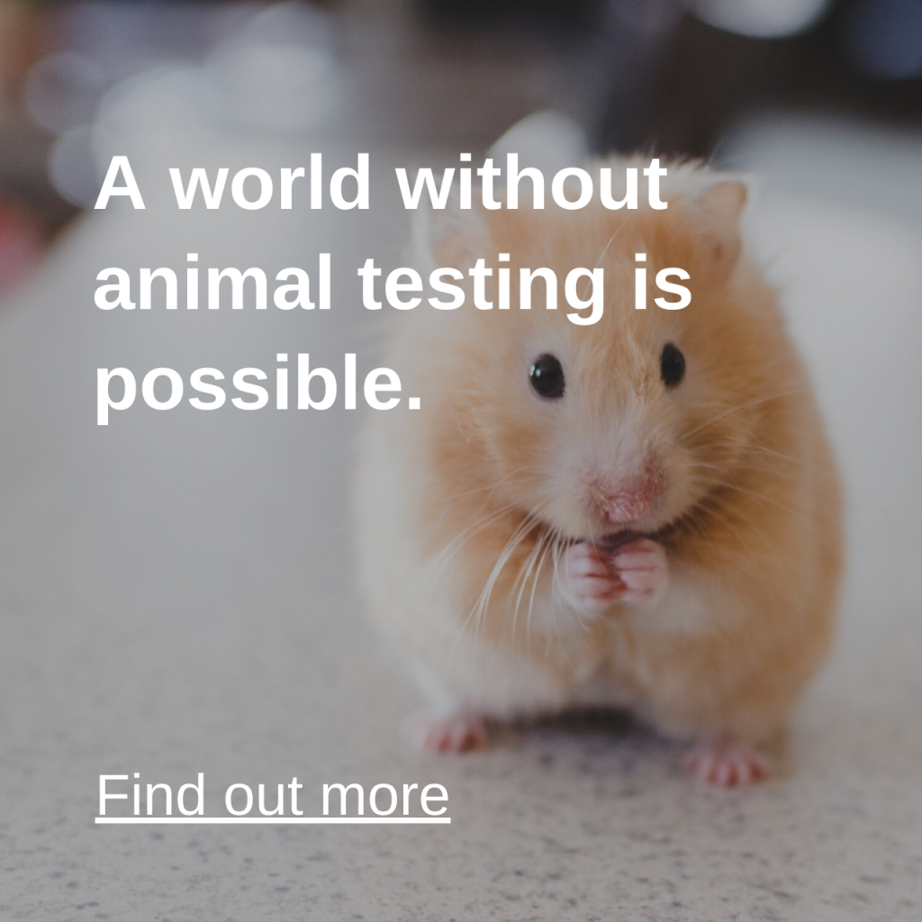 A world without animal testing is possible